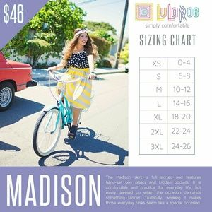 LuLaRoe Skirts - NWT Brown Lularoe Madison